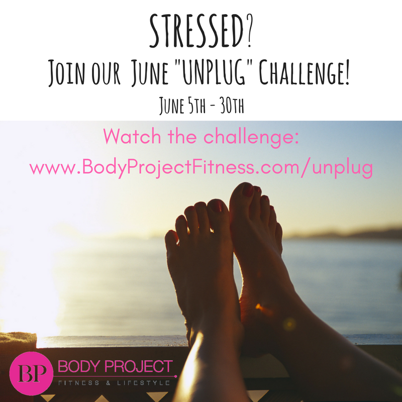 "JUNE ""UNPLUG"" CHALLENGE"